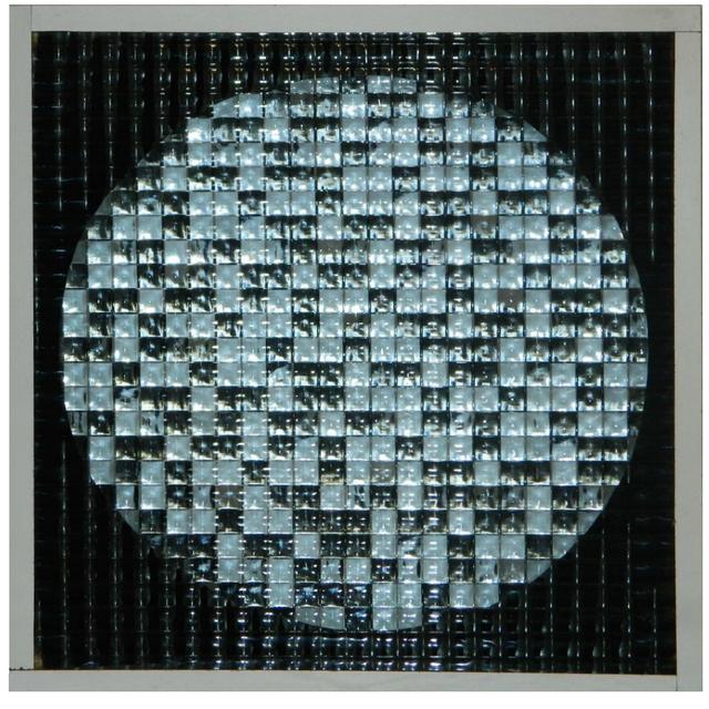 , 'Schema luminoso varabile (scacchiera + quadrionda),' 1962-1968, Kanalidarte