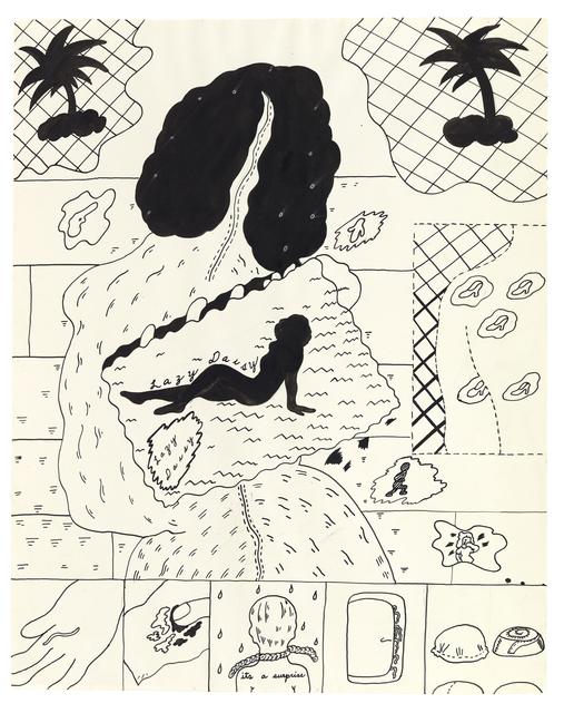 , 'Lazy Daisy,' ca. 1968, Matthew Marks Gallery
