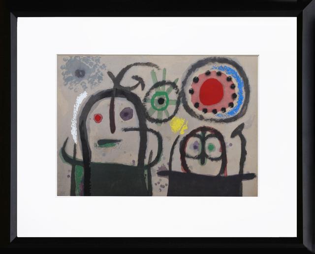 Joan Miró, 'Cartones 19: Femmes en priere devant le soleil', 1965, RoGallery