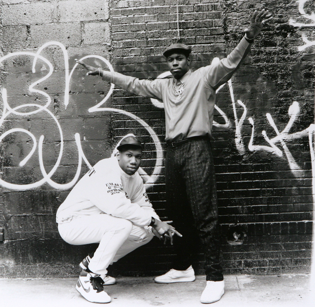 , 'KRS-One and Scott La Rock,' 1987, Getty Images Gallery
