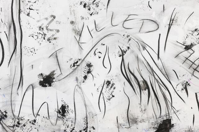 , 'Clash (detail),' 2016, Kunstverein Reutlingen