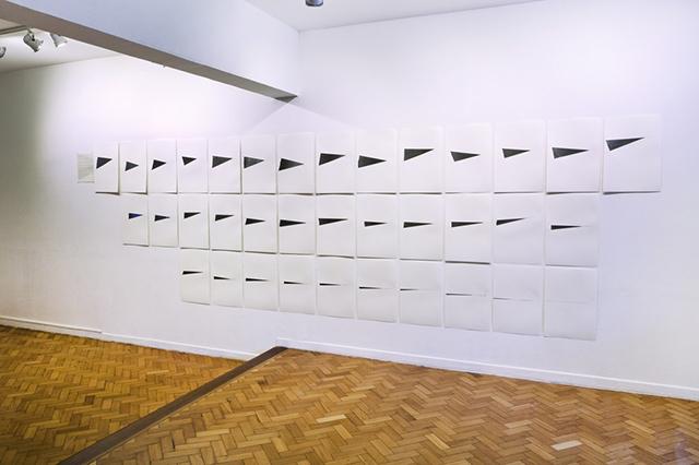 , 'Exercícios de contenção, saturação e reiteração,' 2016, Galeria Raquel Arnaud