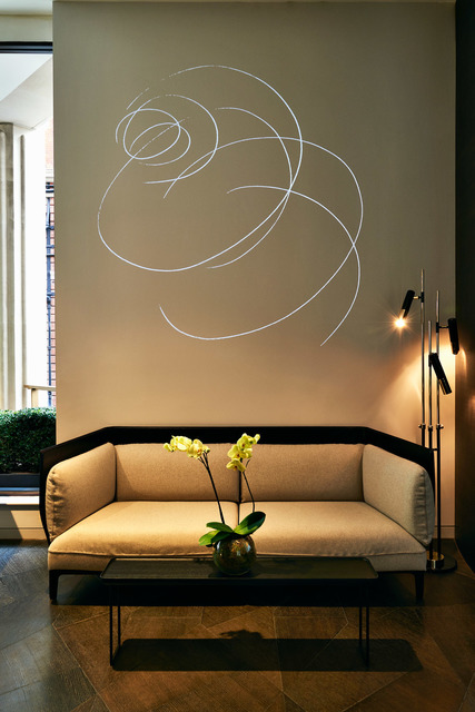 , 'Pirouette Light Drawing,' 2015, House of the Nobleman