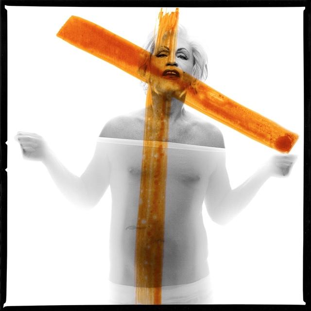 Sandro Miller, 'Bert Stern / Marilyn Monroe, Crucifix II, 1962', 2014, Fahey/Klein Gallery