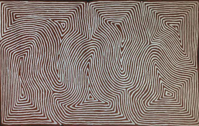 George Tjungurrayi, 'Tingari', 2018, Wentworth Galleries