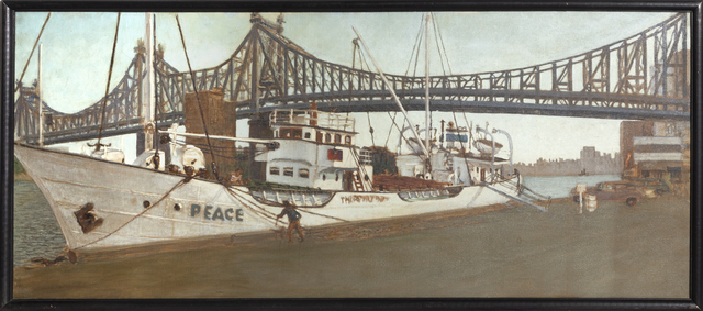 William Waithe, 'Boats Under the Queensboro Bridge', 1980, RoGallery