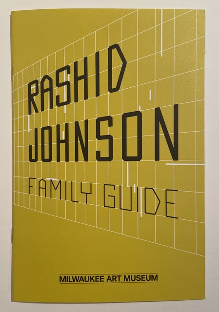 "Rashid Johnson, 'Rashid Johnson ""Hail We Now Sing Joy"" Milwaukee Art Museum Ten Page plus covers collaborative interactive Exhibition Brochure/Booklet, 2017', 2017, Ephemera or Merchandise, Color Ten Page plus covers collaborative interactive Exhibition Brochure/Booklet Published by the Milwaukee Art Musuem, David Lawrence Gallery"