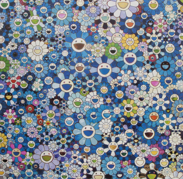 Takashi Murakami, 'Shangri-la Blue', 2012, Julien's Auctions