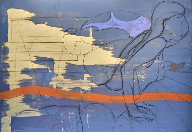 , 'Blue Desert,' 2014, Praxis