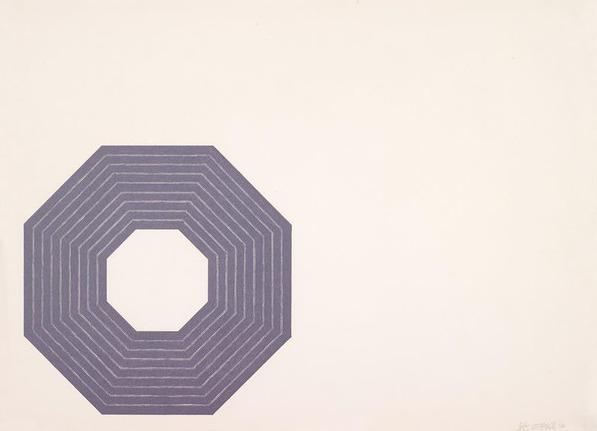 Frank Stella, 'Purple Series', 1972, Caviar20