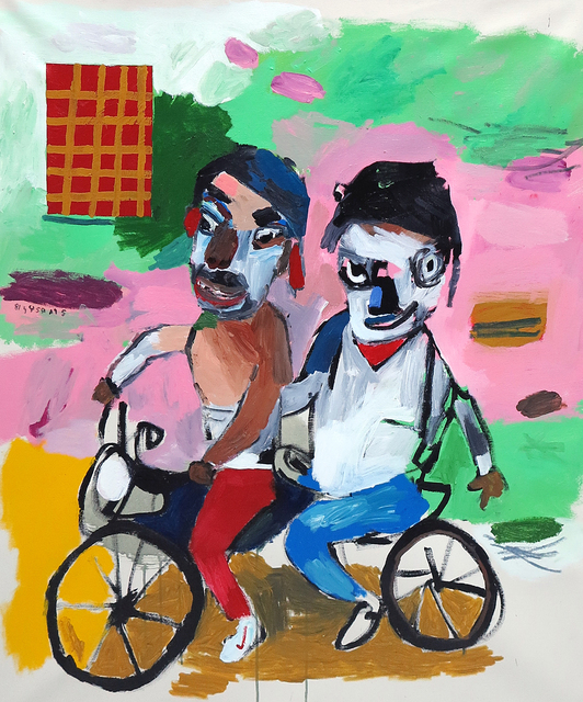 , 'Esquina del muerto,' 2018, Galerie Heike Strelow