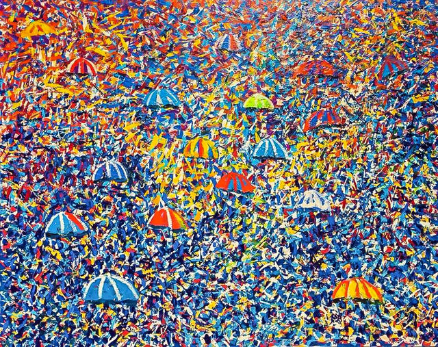 Larry Otoo, 'Umbrella Festival ', 2019, Out of Africa Gallery