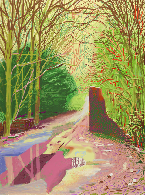 , 'The Arrival of Spring in Woldgate, East Yorkshire in 2011 (twenty eleven) – 2 January (1147),' 2011, National Gallery of Victoria
