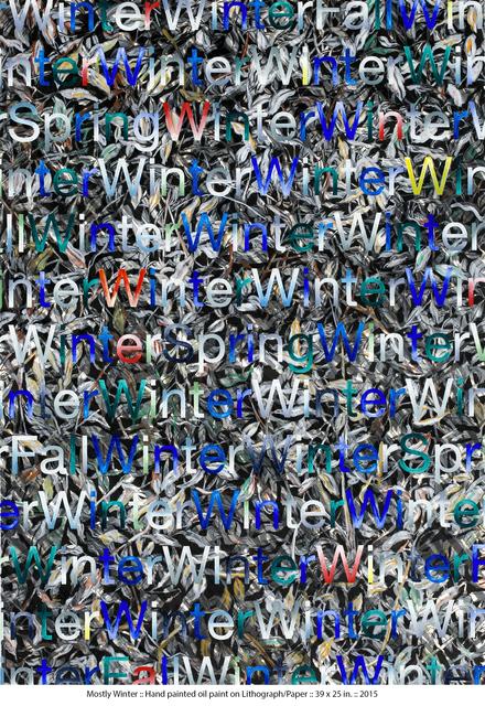 Doug Argue, 'Mostly Winter', 2015, Zemack Contemporary Art