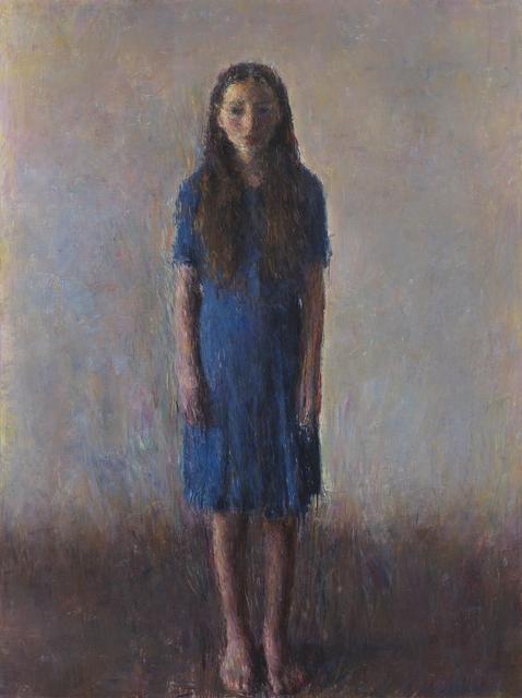 , 'Aure de face en bleu,' 2017, Galerie Koch