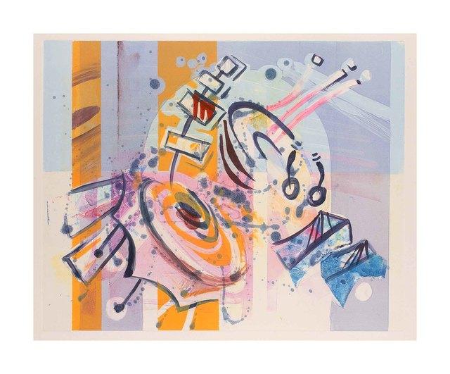 , 'Takemitsu Spirit Garden - Violet Mood,' 2015, Walter Wickiser Gallery