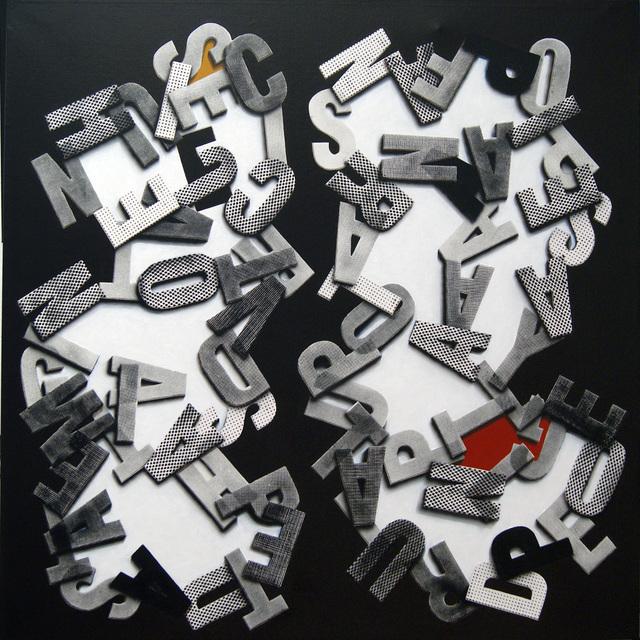 , 'Poema del Supermercado 2,' 2011, Galería Weber-Lutgen