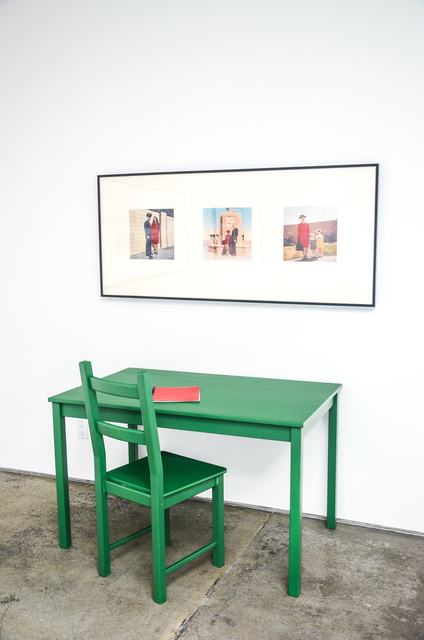 , 'Meditations on a Triptych,' 1973, Christopher Grimes Gallery