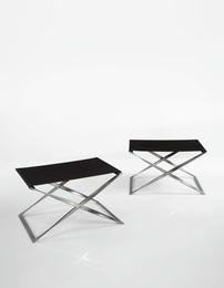 Poul Kjærholm, 'Pair of PK-91 Stools,' circa 1961, Sotheby's: Important Design