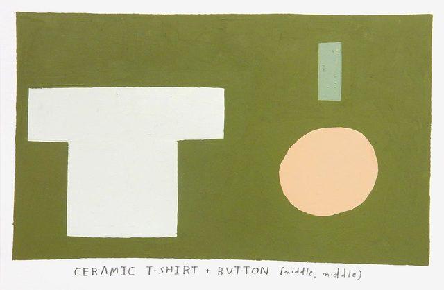 , 'ceramic t-shirt,' 2017, Uprise Art