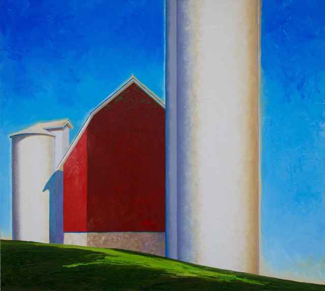 , 'White Silos,' , Sorrel Sky Gallery