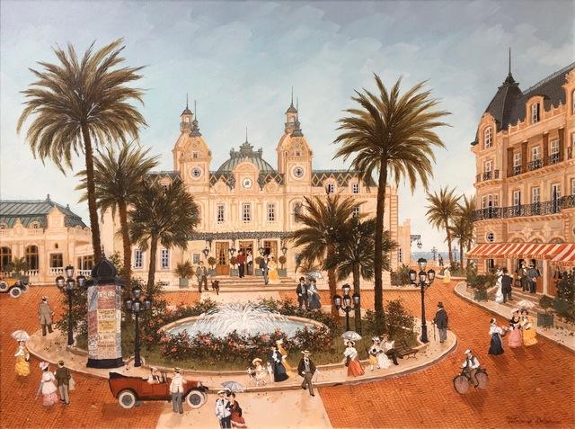 , 'La place du casino de Monte-Carlo,'  , Hugo Galerie