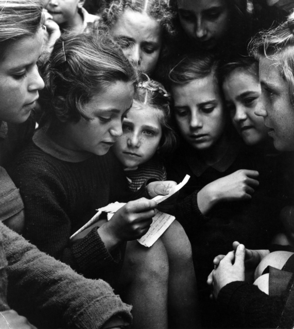 David Seymour, 'Group of girls, Poland', 1948, °CLAIR Galerie