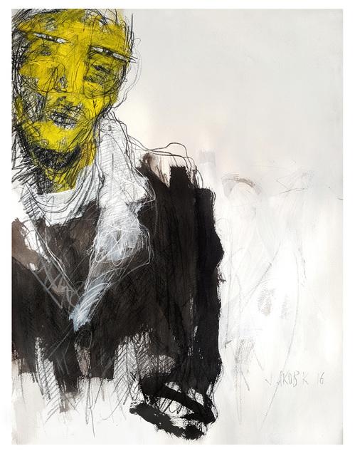 , 'Portrait of a Stranger,' 2016, Galerie Ernst Hilger