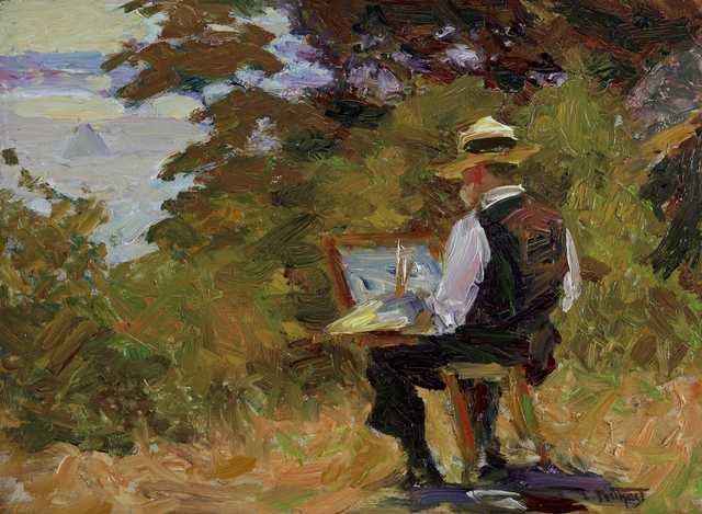 , 'The Artist (Self-Portrait),' ca. 1910, Debra Force Fine Art