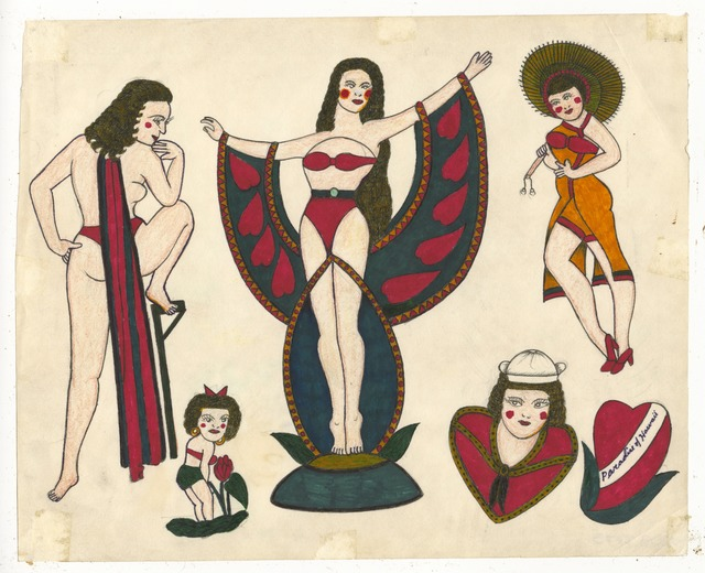 , 'Untitled (Pinups),' ca. 1950, Ricco/Maresca Gallery
