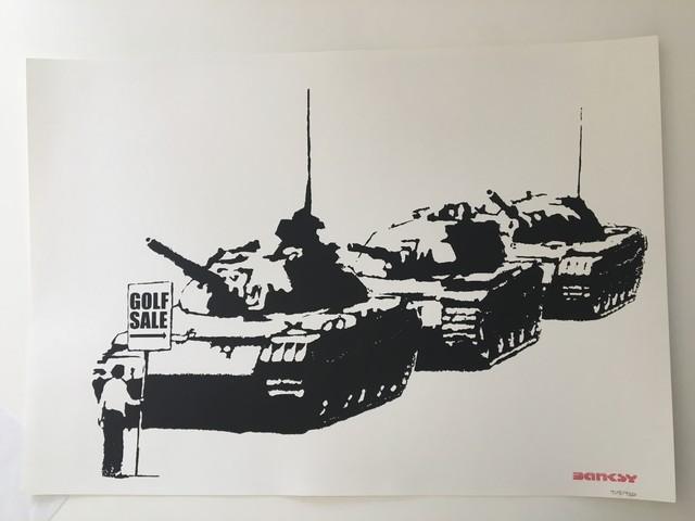 Banksy, 'Golf Sale (Unsigned)', 2003, Prescription Art