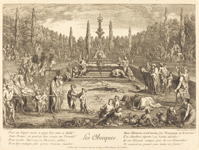 Claude Gillot, 'Les Obseques (The Funeral Rites)', National Gallery of Art, Washington, D.C.