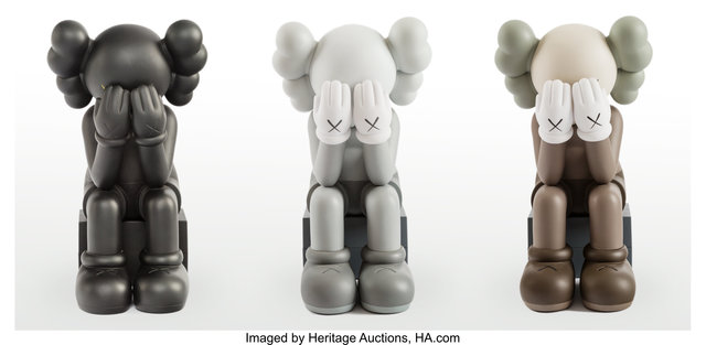 KAWS, 'Passing Through Companion, set of three', 2013, Heritage Auctions