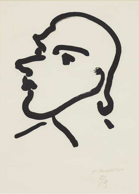 , 'Nadia de profil,' 1948, Cristea Roberts Gallery