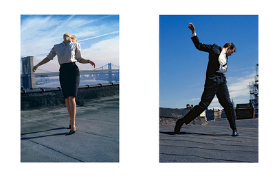 "Untitled (Cindy, from the ""Men in the Cities"" Series) and Untitled (Eric, from the ""Men in the Cities"" Series)"