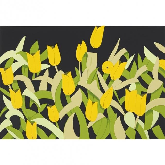 Alex Katz, 'Yellow Tulips', 2014, Print, Silkscreen, Vogtle Contemporary