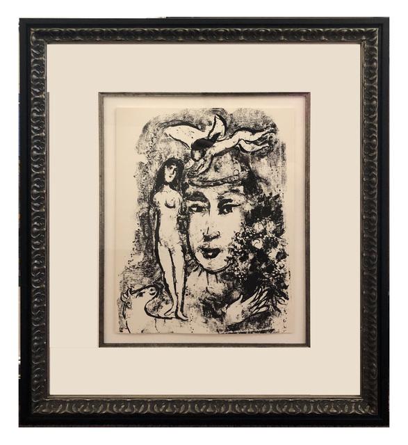 Marc Chagall, 'Le Clown Blanc', 1964, Print, Original Lithograph, Elliott Gallery
