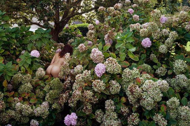 , 'Jeune fille en fleurs,' Normandie 2014, Immagis Fine Art Photography