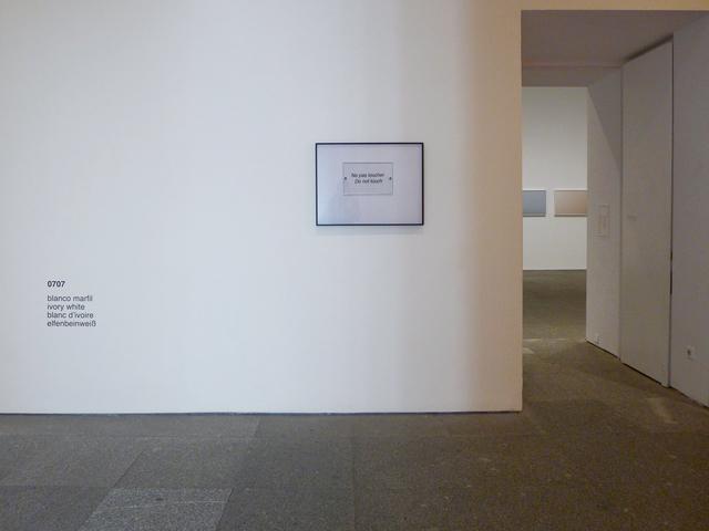 , 'Diez blancos (blanco marfil),' 2015, Estrany - De La Mota