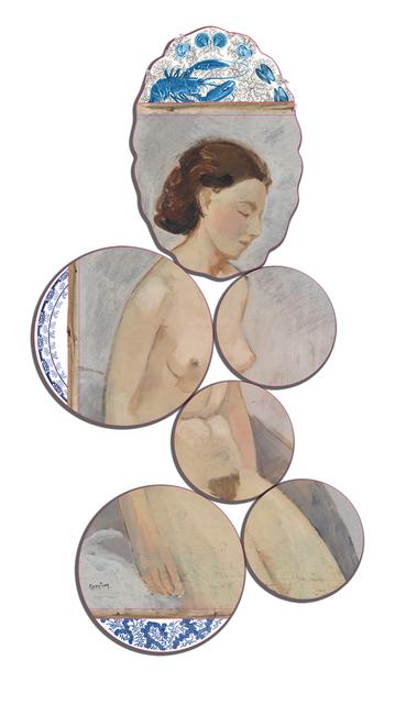 , 'Flemish Nude,' 2015, Judy Straten
