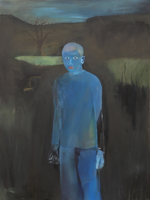 , 'Blue Figure,' 2014, Contemporary by Golconda