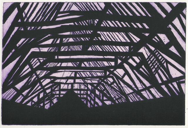, 'Violet Interior,' 2002, Enitharmon Editions