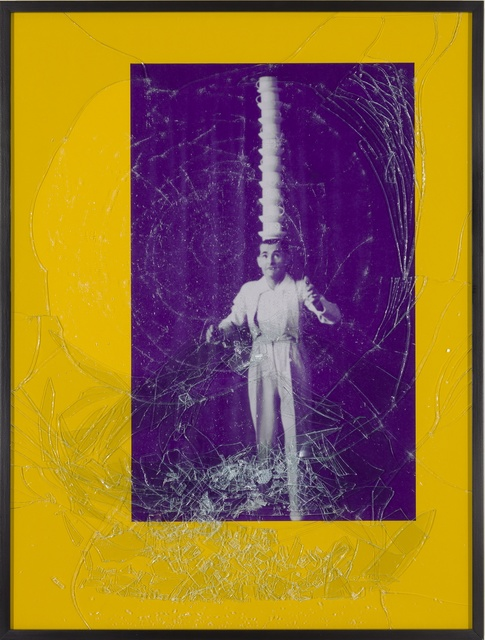 , 'Balance #1 (Purple Head Stack),' 2001, Tracy Williams, Ltd.