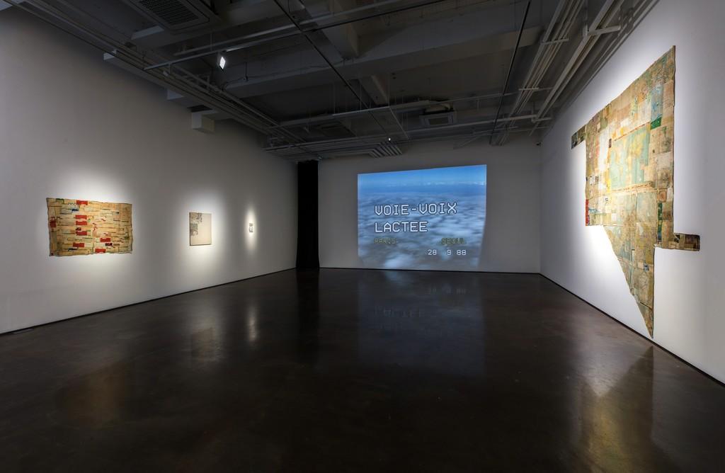 Installation view of KIM Soun-Gui, 0 Time at ARARIO GALLERY Seoul, Korea, 2018