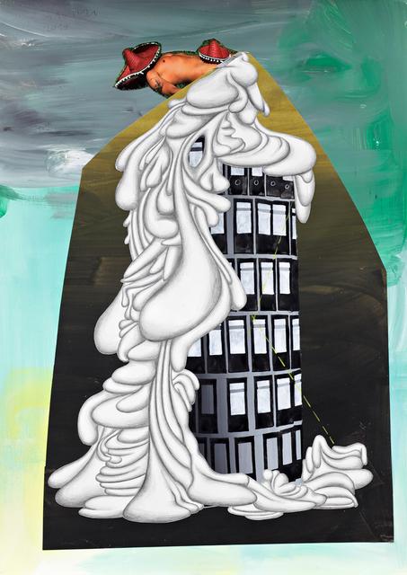 , 'Entwurf für eine Verwaltungsskulptur (Design for an administrative sculpture),' 2015, CHOI&LAGER
