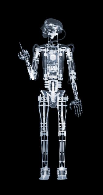 Nick Veasey, 'Robothespian - The Finger', 2013, Opiom Gallery