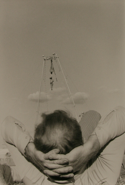 , 'Aerial Thrill Show, Man Reclining, Butler Co. Fair, Pa,' 1978, Anglim Gilbert Gallery
