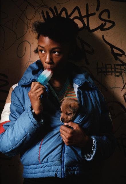 , 'Girl with Ice Cream and Dog, Spanish Harlem, NY,' 1987, Hardhitta Gallery