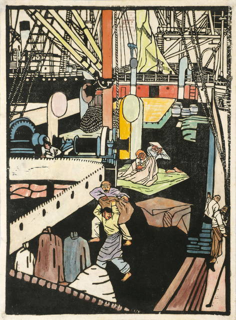 , 'Chinese on Deck,' 1907-1908, Galerie Bei Der Albertina Zetter