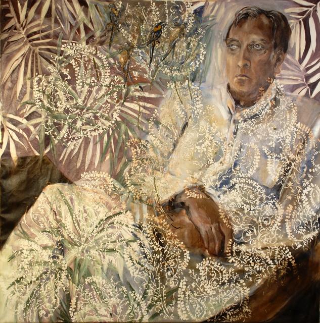 , 'Maharaja Pataudi,' 2010, Wide Painting